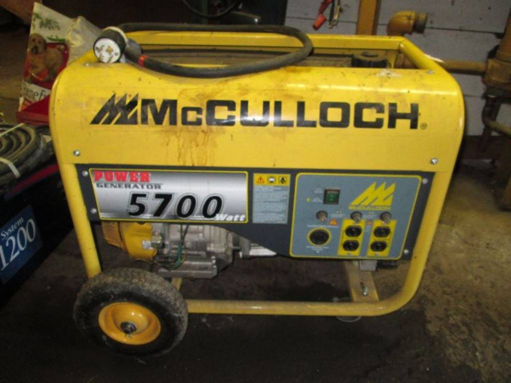 Manual For mcculloch 5700 20