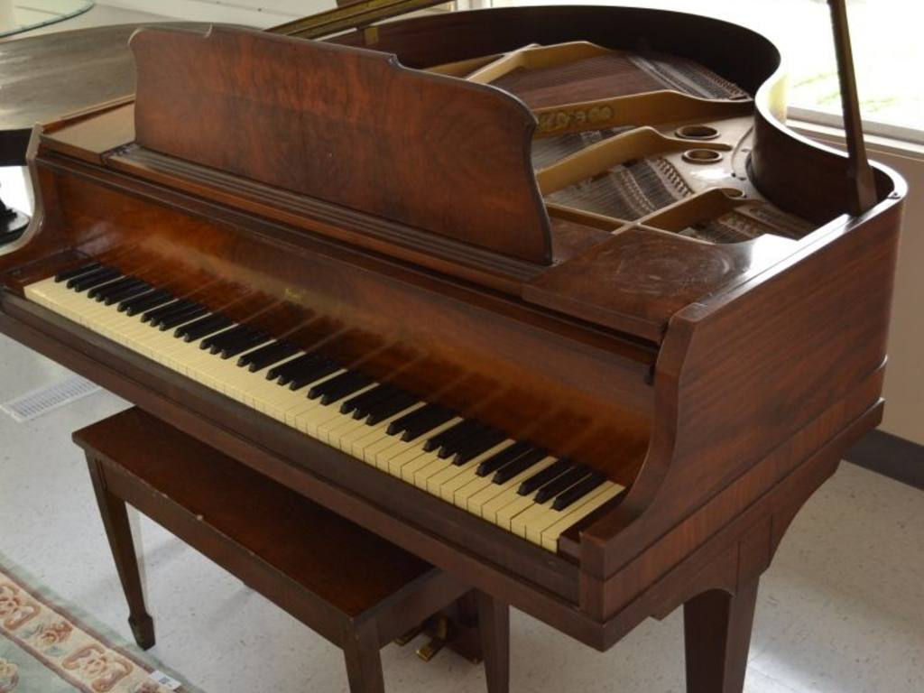 Starr Baby Grand Piano Manufactured In Richmond In