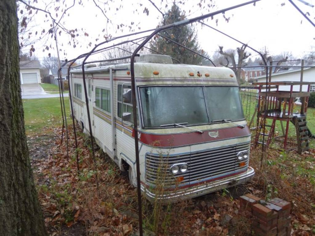 1972 Holiday Rambler Travel Trailer Pictures To Pin On