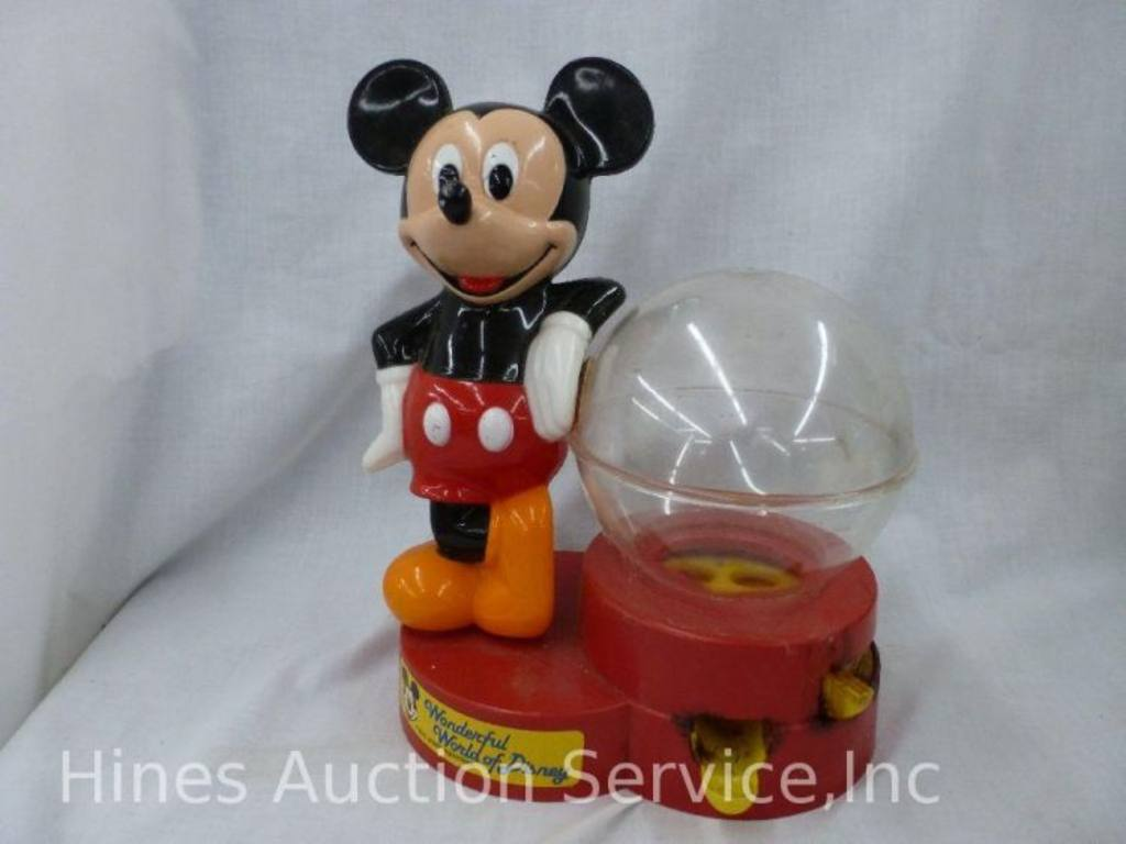 mickey mouse gumball machine commercial
