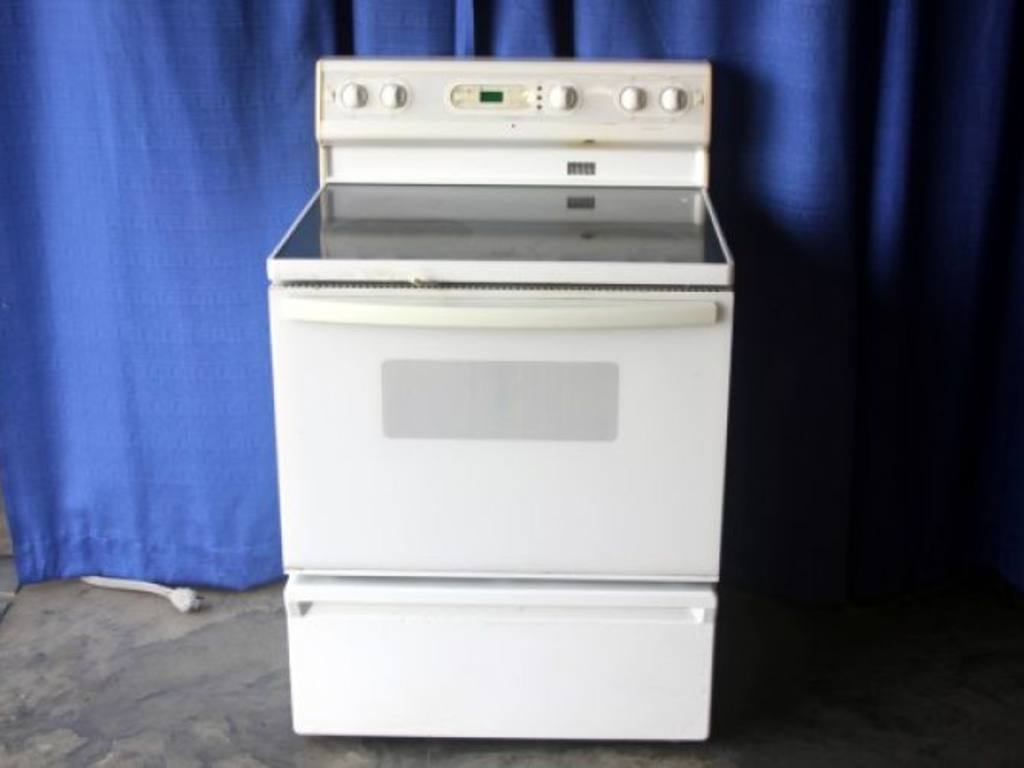 Flat Top Electric Stove ~ Kenmore electric oven flat top range