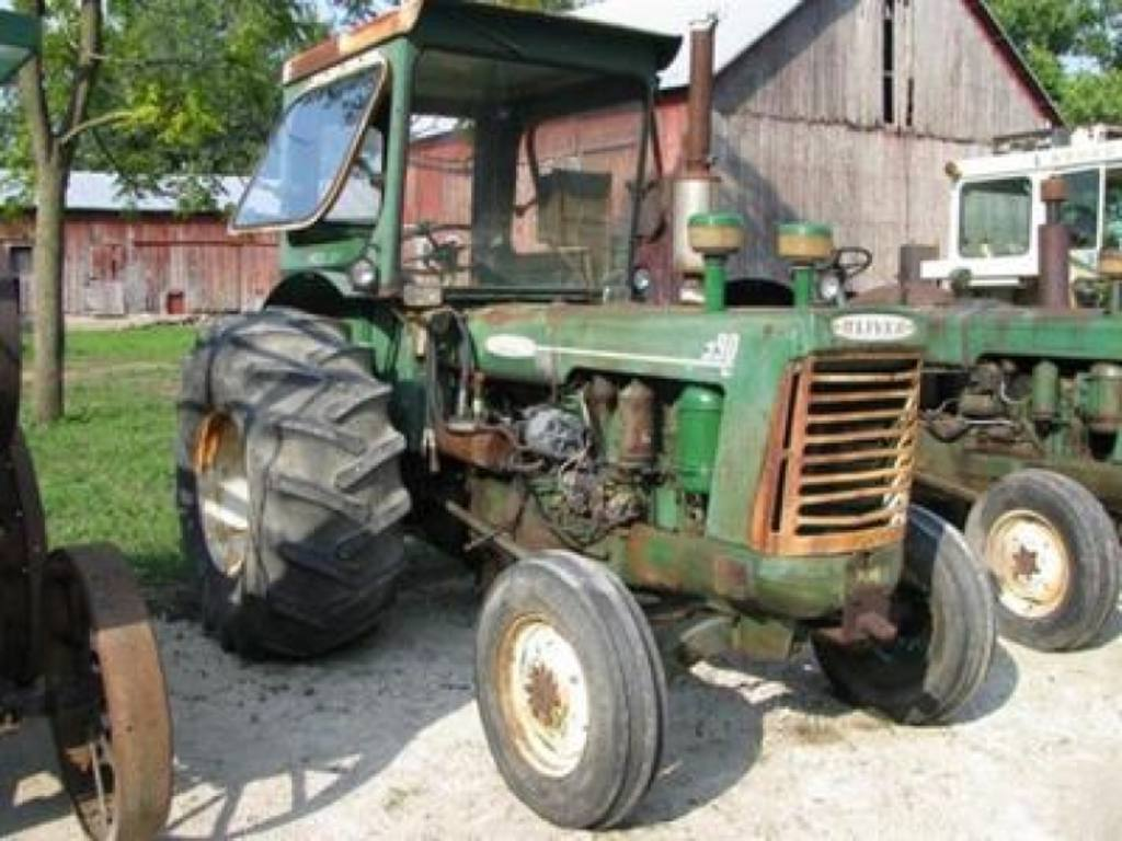 Oliver 990 Tractor : Fantastic oliver driven from coast to by jim